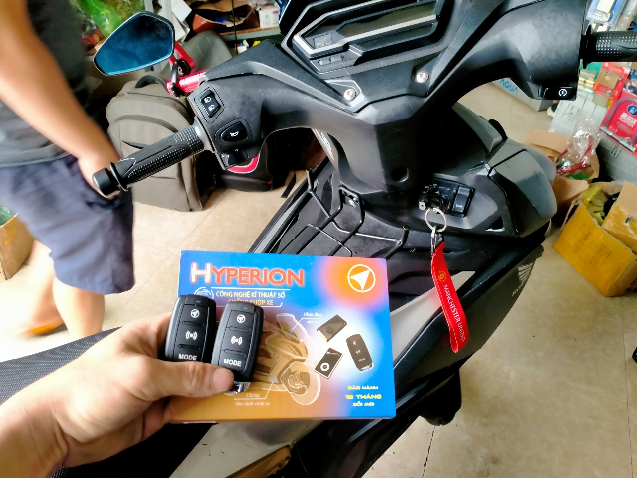 Điểm lắp chống trộm xe máy tại hà nội