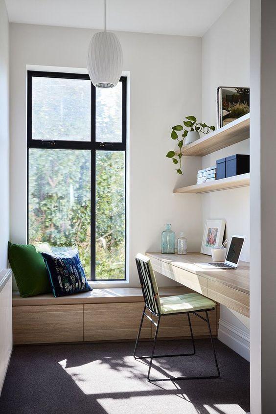 Phòng ngủ kết hợp phòng đọc