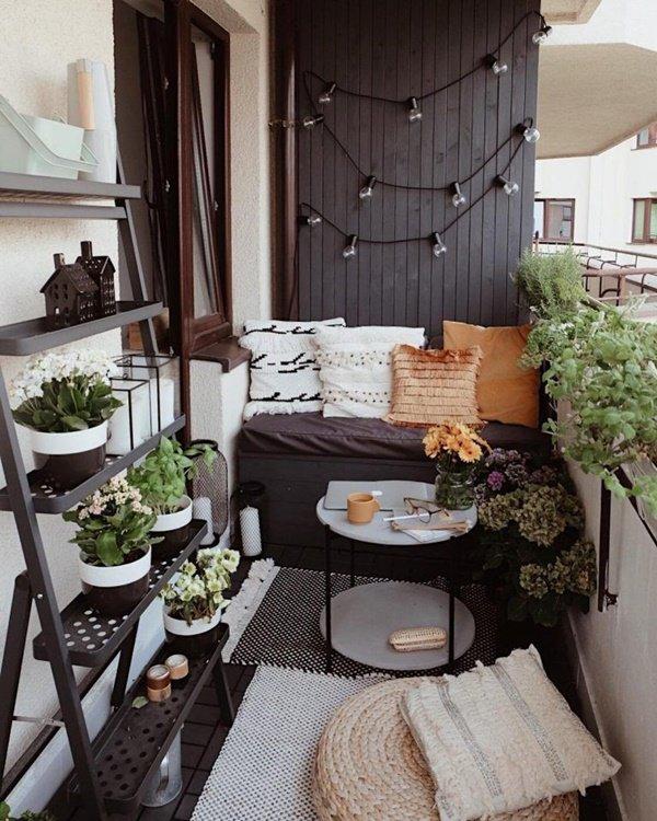 thiết kế nội thất ban công chung cư