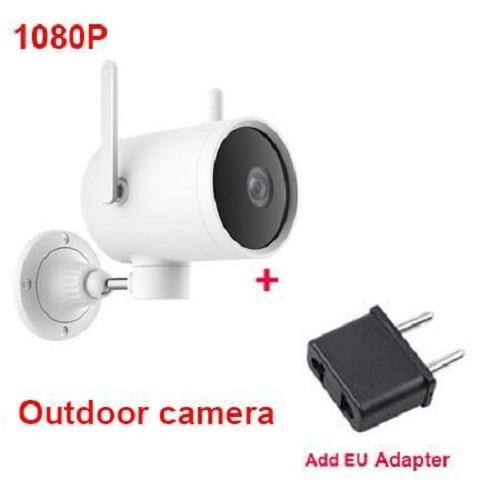 Bộ Camera Xiaomi ngoài trời Mi Outside Pro 1080P - EC2 bao gồm 1 camera giám sát cùng với 1 bộ thu nhận hình ảnh