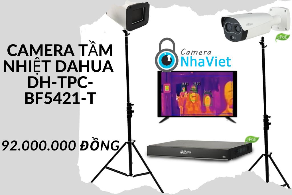 Camera thân nhiệt Dahua DH-TPC-BF5421-T