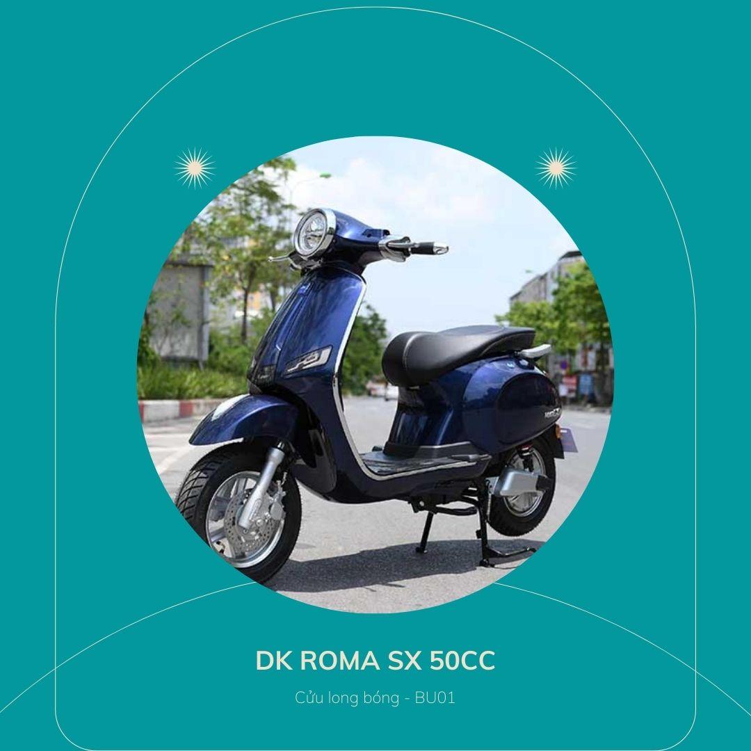 DK roma sx 50cc cửu long bóng