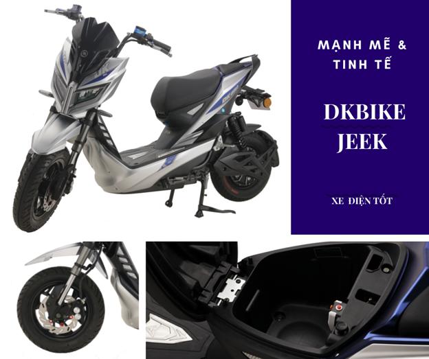 xe máy điện DKBike Jeek
