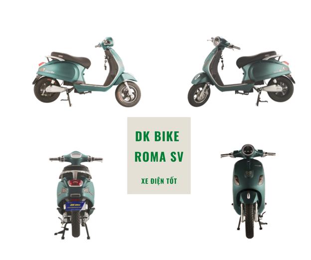 Xe Máy Điện DKBike Roma SV