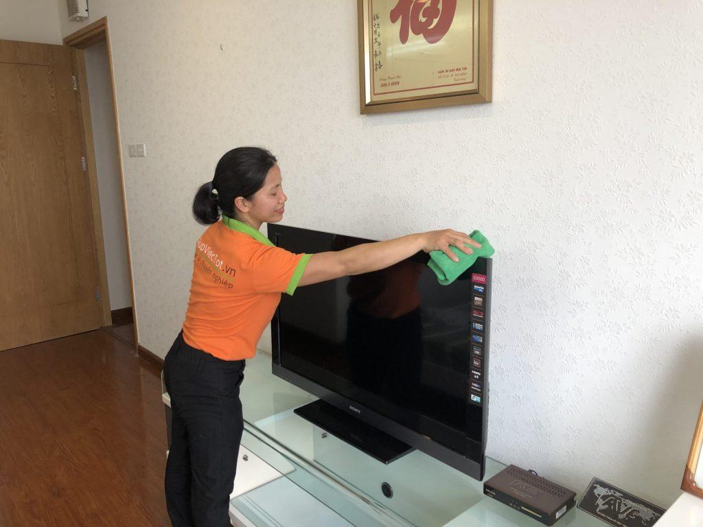 Giúp việc nhà giờ hành chính