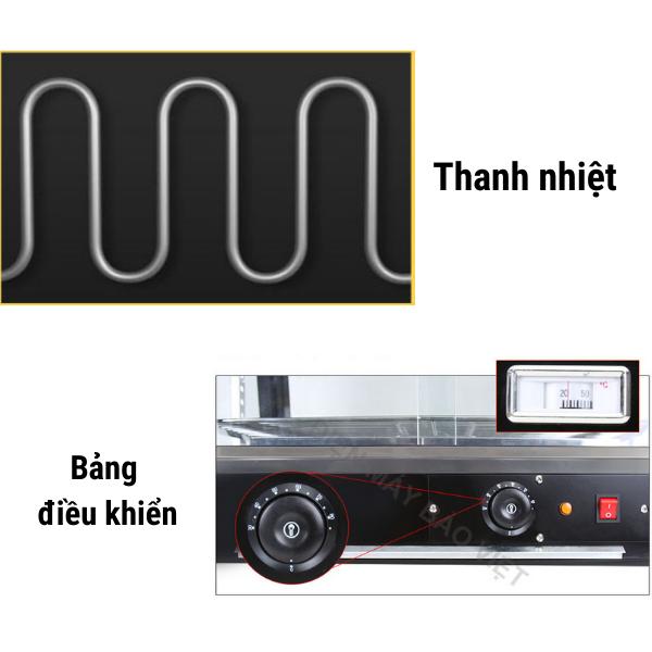 Hệ thống điện tủ giữ nóng thức ăn