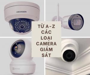 A-Z các loại camera giám sát trên thị trường 2021