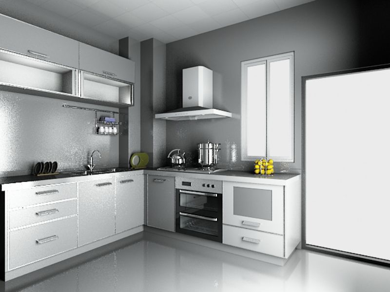Tủ bếp chung cư