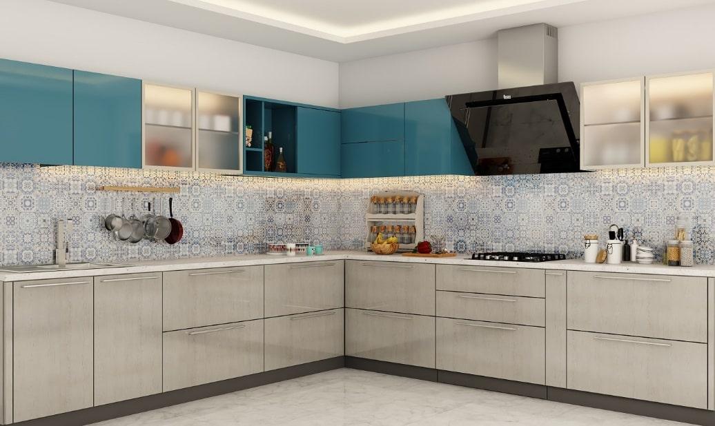 Thiết kế tủ bếp chung cư gia tăng tính thẩm mỹ cho không gian sống