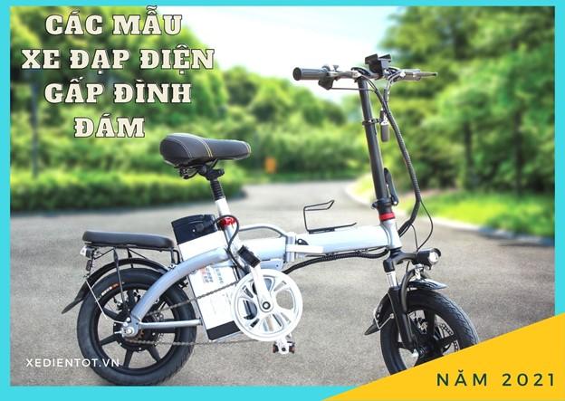 Các mẫu xe đạp điện gấp đình đám