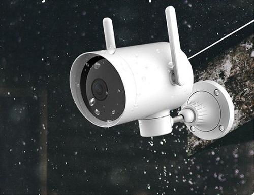 Camera Xiaomi ngoài trời Mi Outside Pro 1080P - EC2 có thể hoạt động ổn định trong điều kiện mưa gió