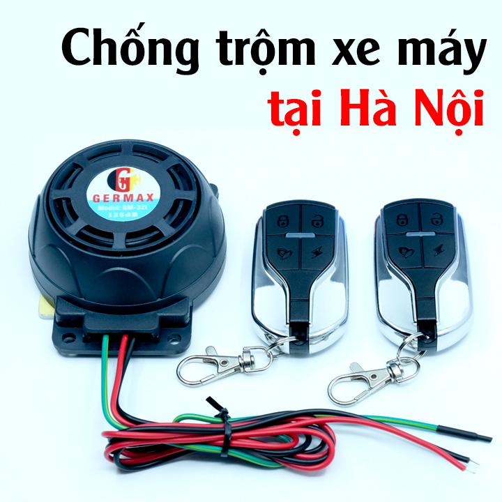 Chống trộm xe máy tại Hà Nội