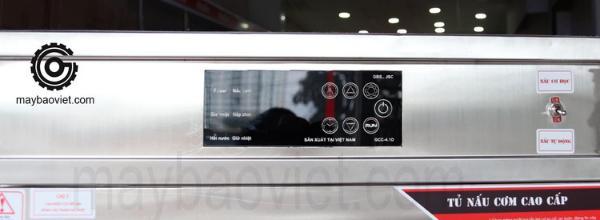Bảng điều khiển cảm ứng - Tủ nấu cơm Bavico
