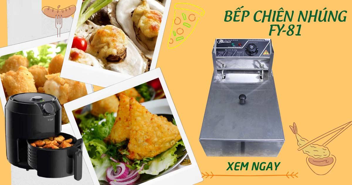 Bếp chiên nhúng Bavisun FY-81