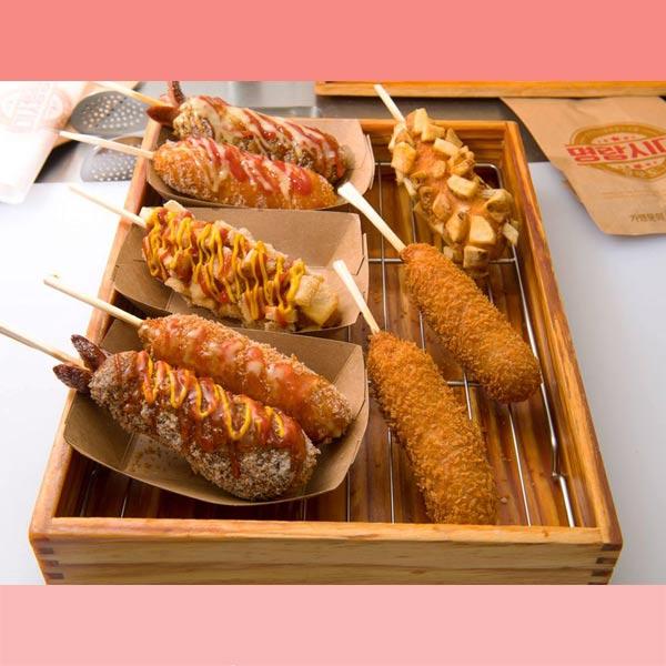 Hotdog chiên