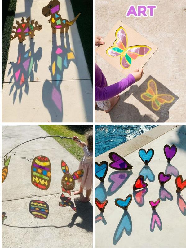 DIY cùng trẻ: tự làm đồ chơi bóng kính
