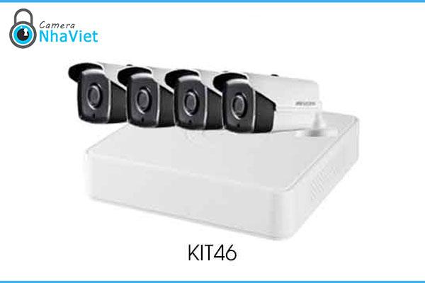 Bộ Kit Camera IP HD1080P HIKVISION KIT46