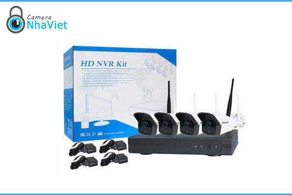 Bộ kit 4 camera Wifi 2MP Questek Win-2004Kit