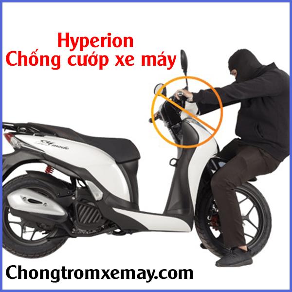 chống trộm xe máy - Chống trộm hyperion tại hà Nội