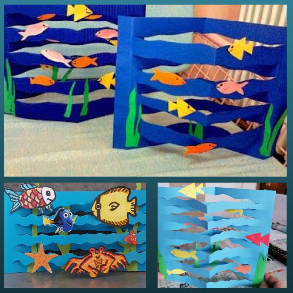 DIY cùng trẻ - cùng tạo đại dương sâu thẳm