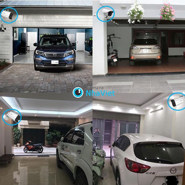camera giám sát an ninh lắp tại nhà để xe