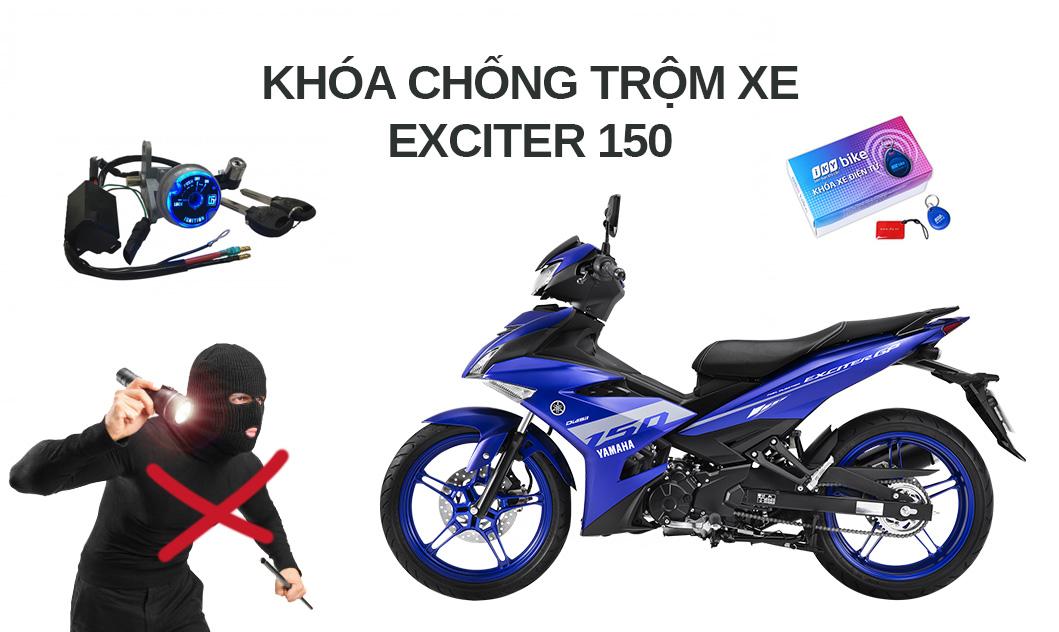 Khóa chống trộm xe máy Exciter 150