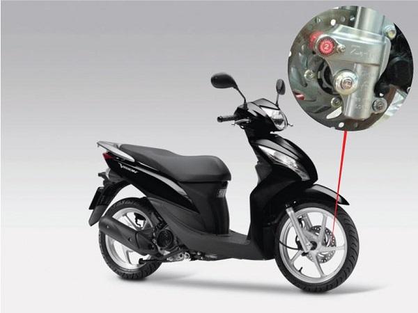Khóa chống trộm xe máy
