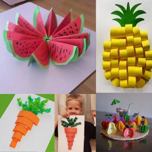 DIY cùng trẻ - lễ hội trái cây