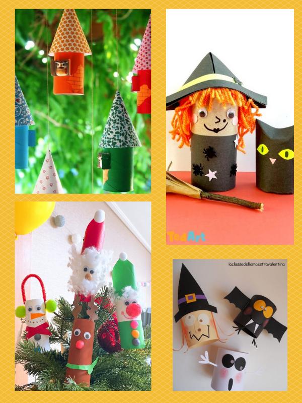 DIY cùng trẻ: cùng sáng tạo đồ chơi theo chủ đề trong năm