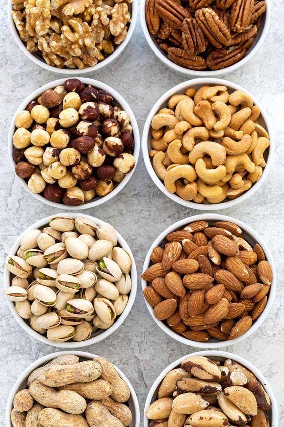 vitamin E nuts
