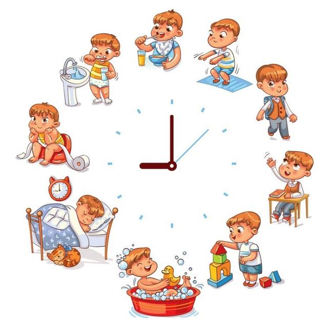 quản lý thời gian giúp lập trình bộ não của trẻ