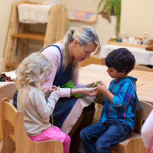 steiner phương pháp giáo dục sớm