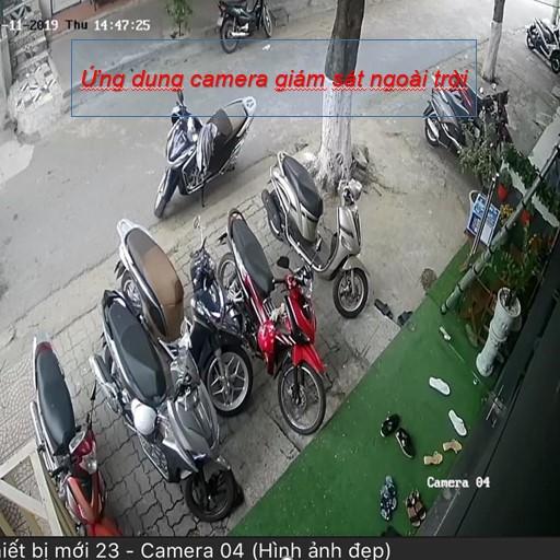 Ứng dụng camera giám sát ngoài trời