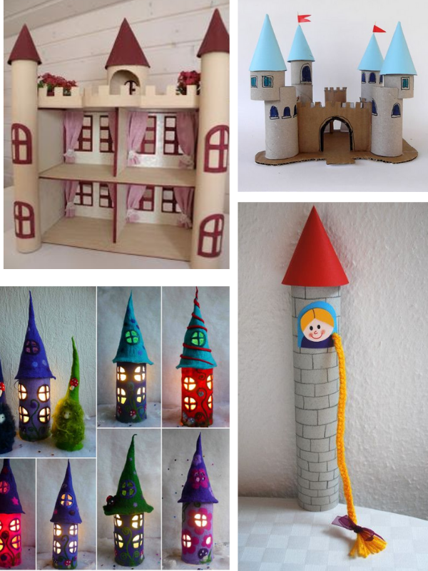 DIY cùng trẻ: xây dựng toà lâu đài thật đơn giản