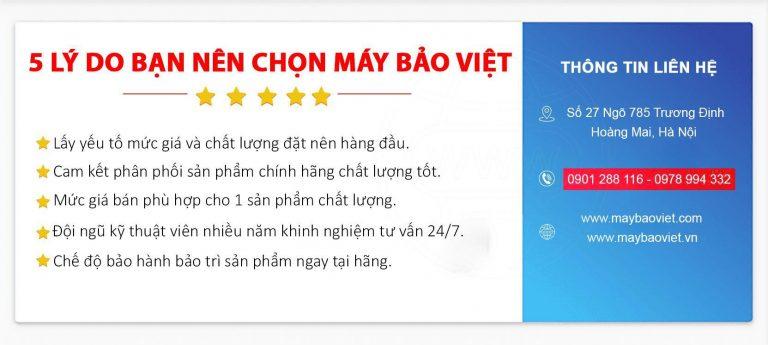 5 lý do bạn nên chọn Máy Bảo Việt