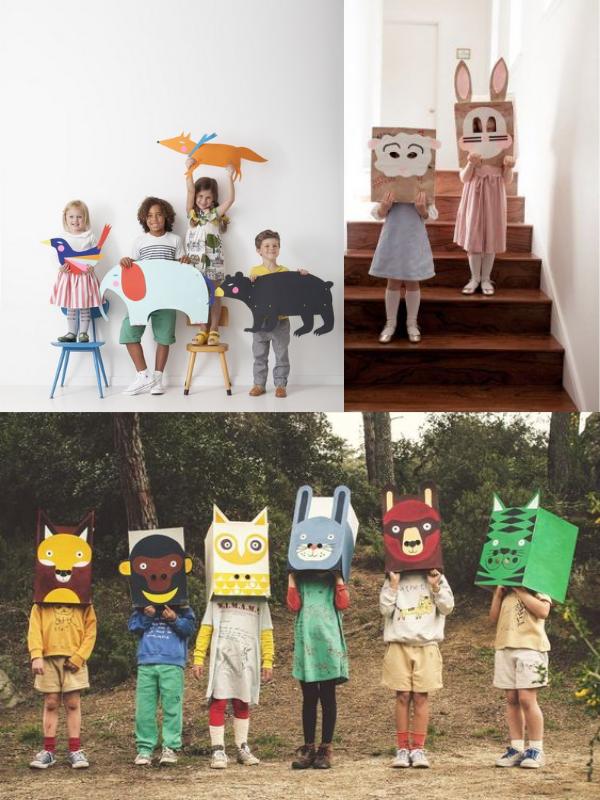 DIY cùng trẻ: vườn thú từ đồ tái chế