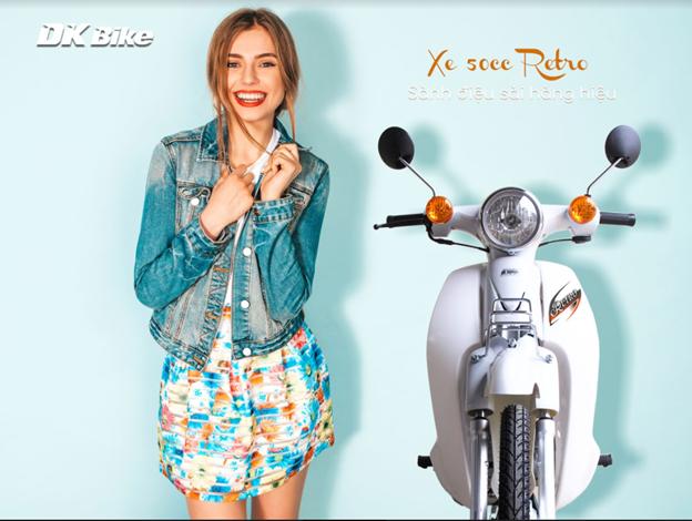Xe máy 50cc dành cho học sinh