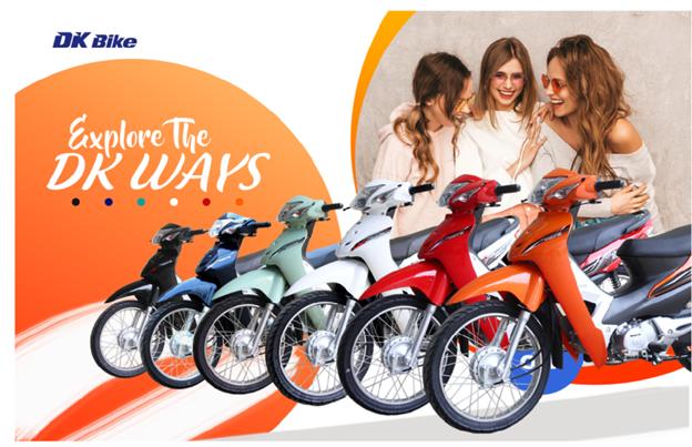 Các mẫu xe máy 50cc trẻ trung dành cho học sinh