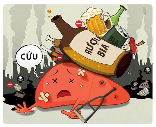 bỏ rượu bia thuốc lá chất gây nghiện