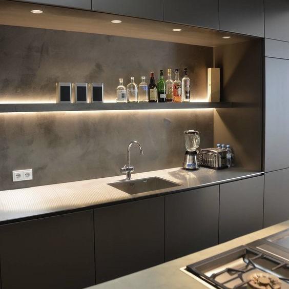 hệ thống đèn tủ bếp