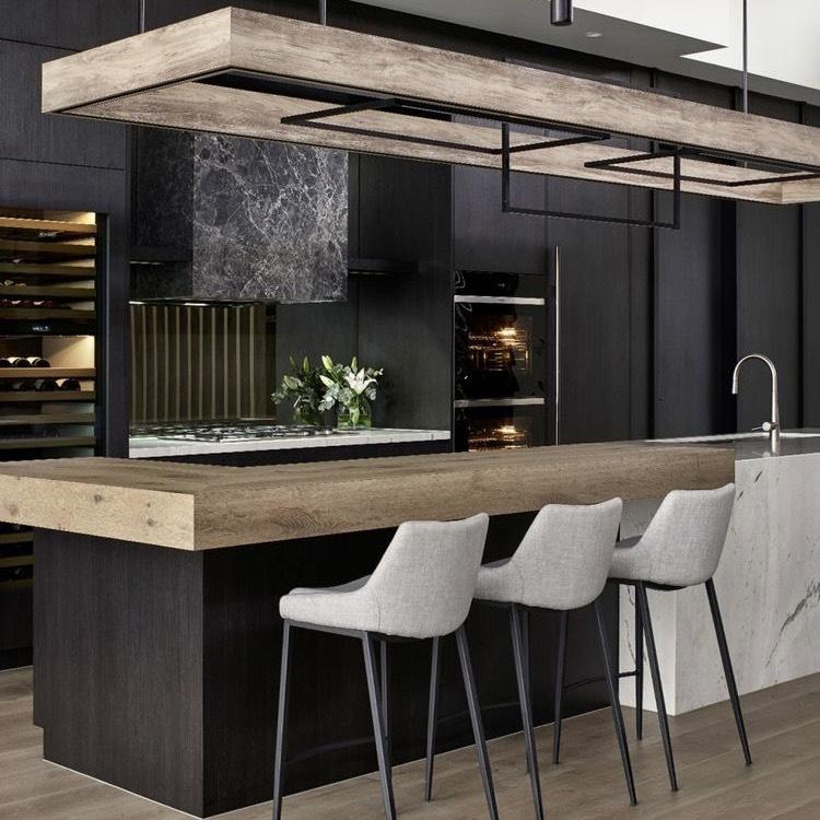 tủ bếp phong cách hiện đại