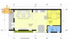 bản vẽ thiết kế nhà vừa ở kết hợp kinh doanh 3 tầng mặt tiền 5m