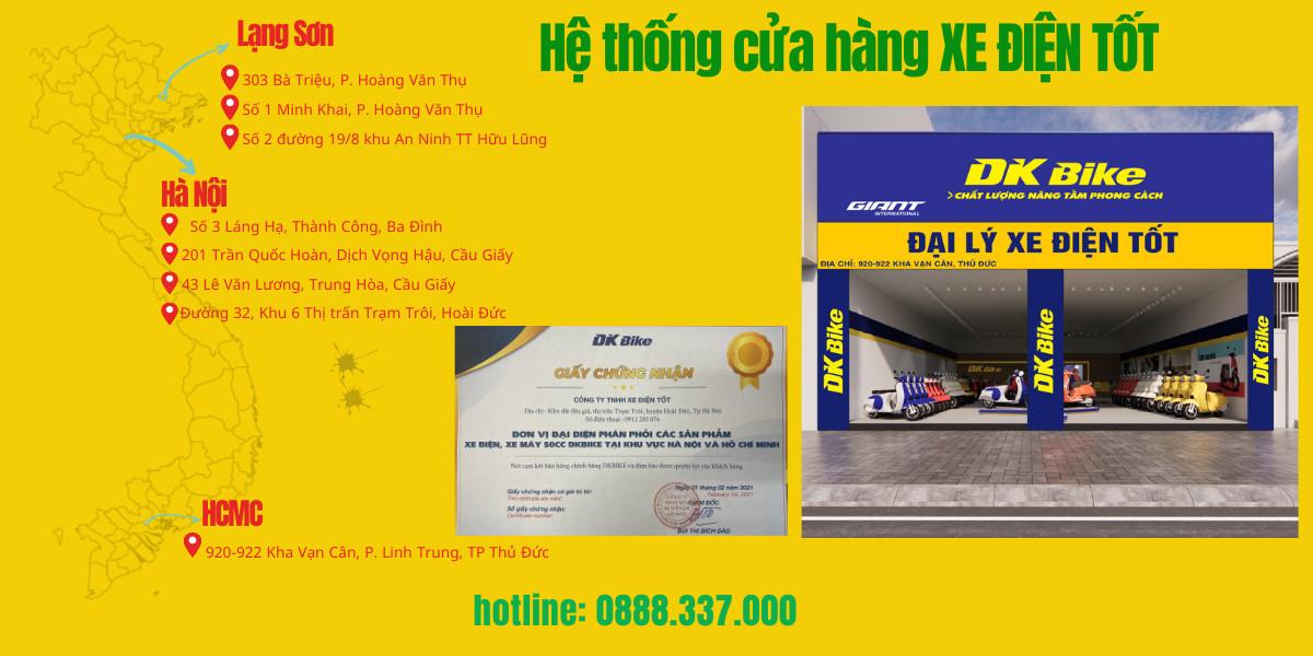 Cứu hộ xe điện 24/7 - hệ thống showroom xe điện tốt