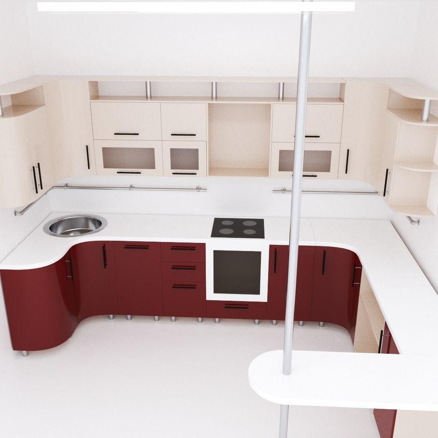 Thiết kế tủ bếp phong cách Hàn Quốc