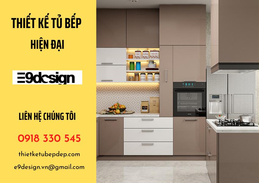 công ty thiết kế tủ bếp E9Design