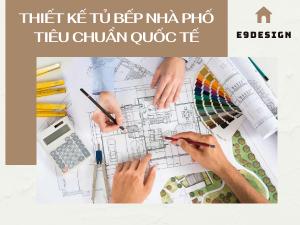 hồ sơ thiết kế tủ bếp nhà phố tiêu chuẩn quốc tế