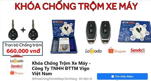 Vigo Việt Nam - Đon vị cung cấp khoá chống trộm xe máy Hyper uy tín