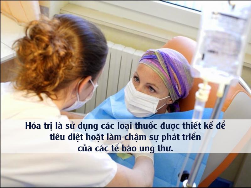 hóa trị điều trị u xơ tử cung ác tính