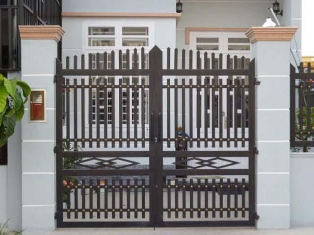 thiết kế cổng nhà