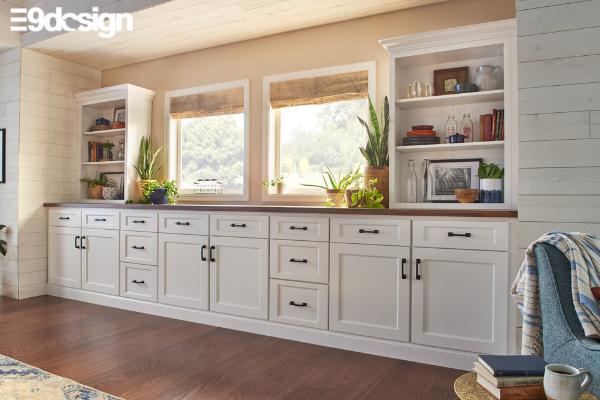Thiết kế tủ bếp biệt thự phong cách Minimalism tối giản